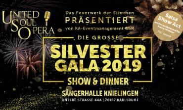 Große Silvester Gala Show & Dinner mit der UNITED SOUL OPERA